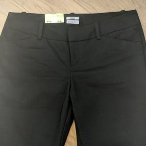 Merona Black Boot Cut Dress Pants NWT Size 12
